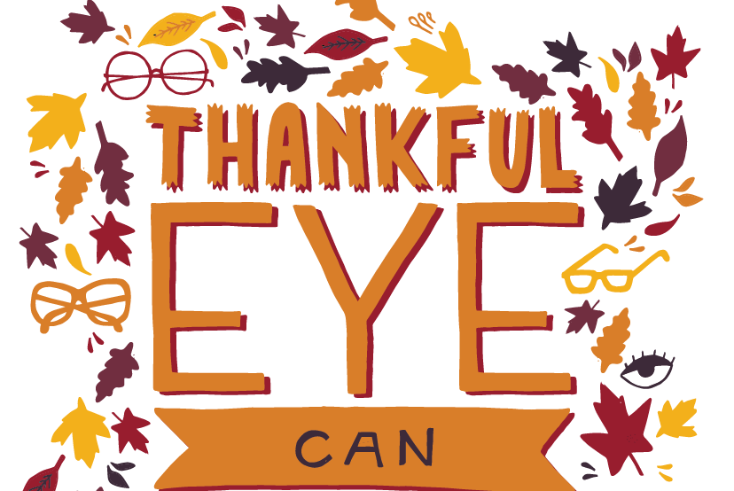 Thankful Eye Can See Free Card Printable