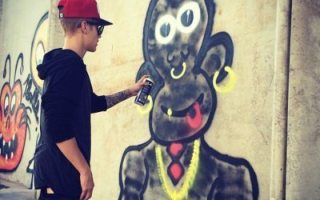 justinbeiber graffiti