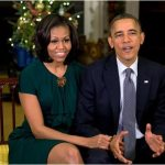 president and first lady christmas