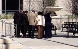 davis family praying
