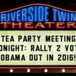 Teaparty Rally To Vote Obama Out in 2016 – PIC