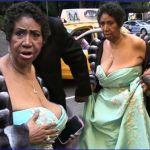 Aretha Franklin's Boobs are Running For The Border… – PIC