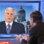 Indiana Gov Mike Pence Cannot Say if New Law Allows for Discrimination – Video