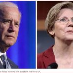 Report – Joe Biden Holds Private Meeting with Elizabeth Warren
