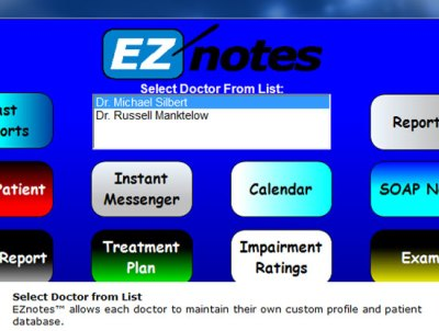 EZNotes Chiropractic Software -Classic