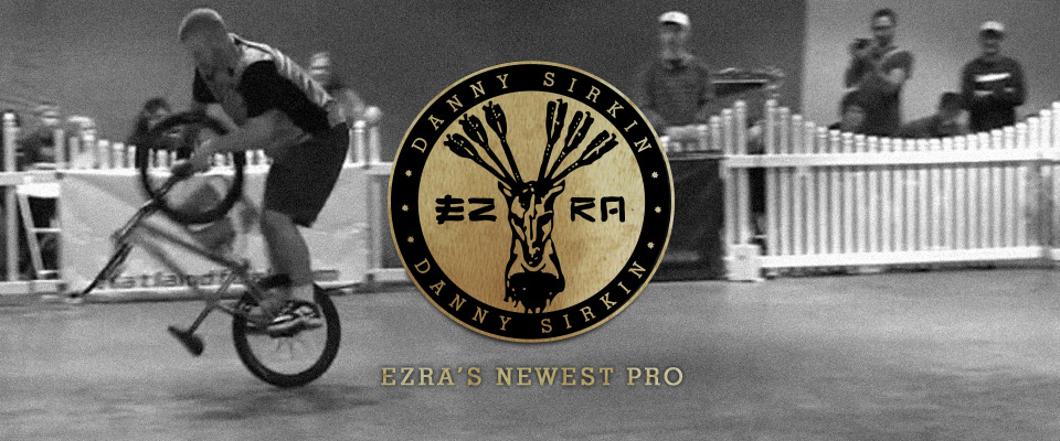 danny sirkin riding for Ezra