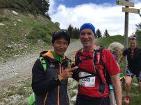 Dawa Sherpa et Brice