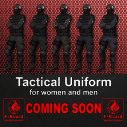 F-Guard Tactical Uniform Coming soon