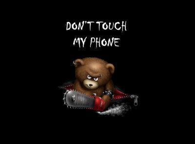 Dont Touch My Phone Wallpaper for Android, iPhone and iPad