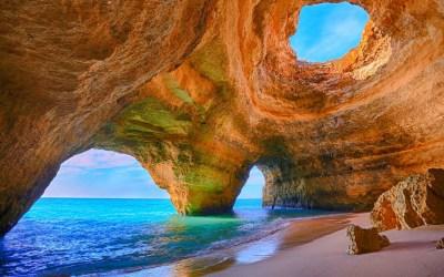 Sea Cave Wallpaper for Widescreen Desktop PC 1920x1080 Full HD