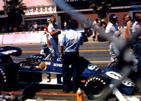 Scheckter—Ttyrrell 076 Long Beach 1976