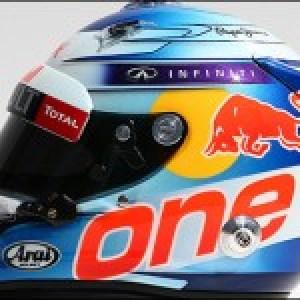 Vettel 2014 helmet