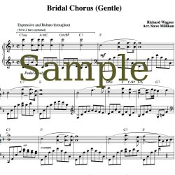 Magnificent By Wedding Music Project Bridal Chorus Sheet Music Comes Wedding March Wedding Processional Songs Piano Wedding Processional Songs Guitar