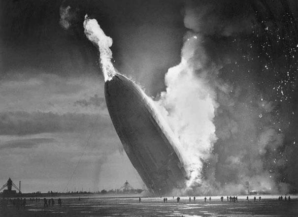 Hindenburg katastrofen i 1937
