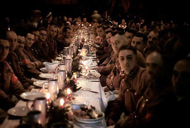 Julaften for tyske offiserer og rekrutter, 1941