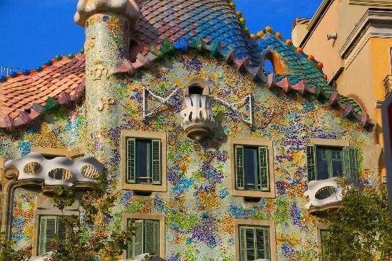 Casa Batllo Barcelona, Spania