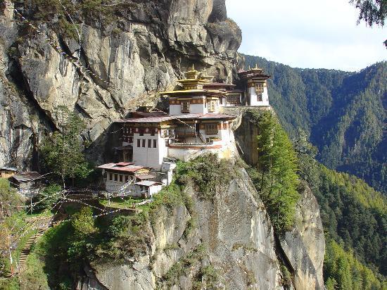 Taktsang Kloster (Tiger's Nest) Paro, Bhutan
