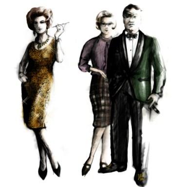 Carlotta, Hylde Latymer and Hugo Latymer