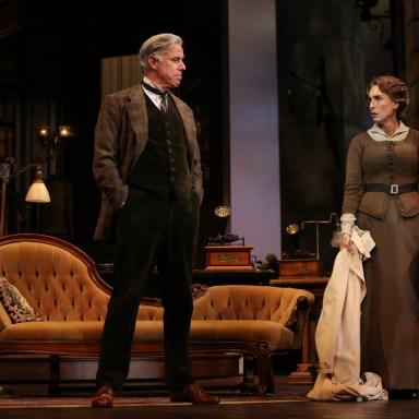 My Fair Lady - Guthrie Theatre - Jeff McCarthy and Angela Timberman - Photo: Joan Marcus