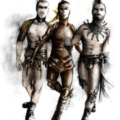 3 Fairies   -   Rendering: Fabio Toblini