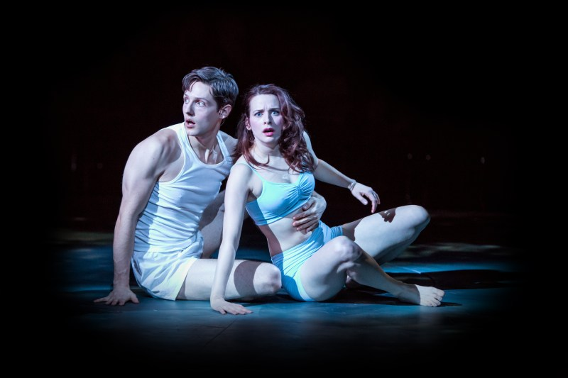 Zach Keenan and Eleonore Dendy as Lysander and Hermia   -   Photo: Dan Norman