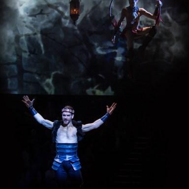 Nicholas Carriere as Oberon   -   Photo: Dan Norman