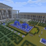 Reconstitution de la bibliothèque d'Alexandrie dans minecraft
