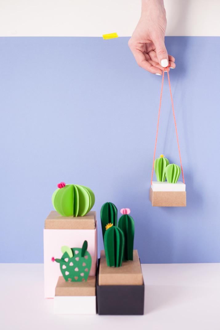 DIY Cactus de papel