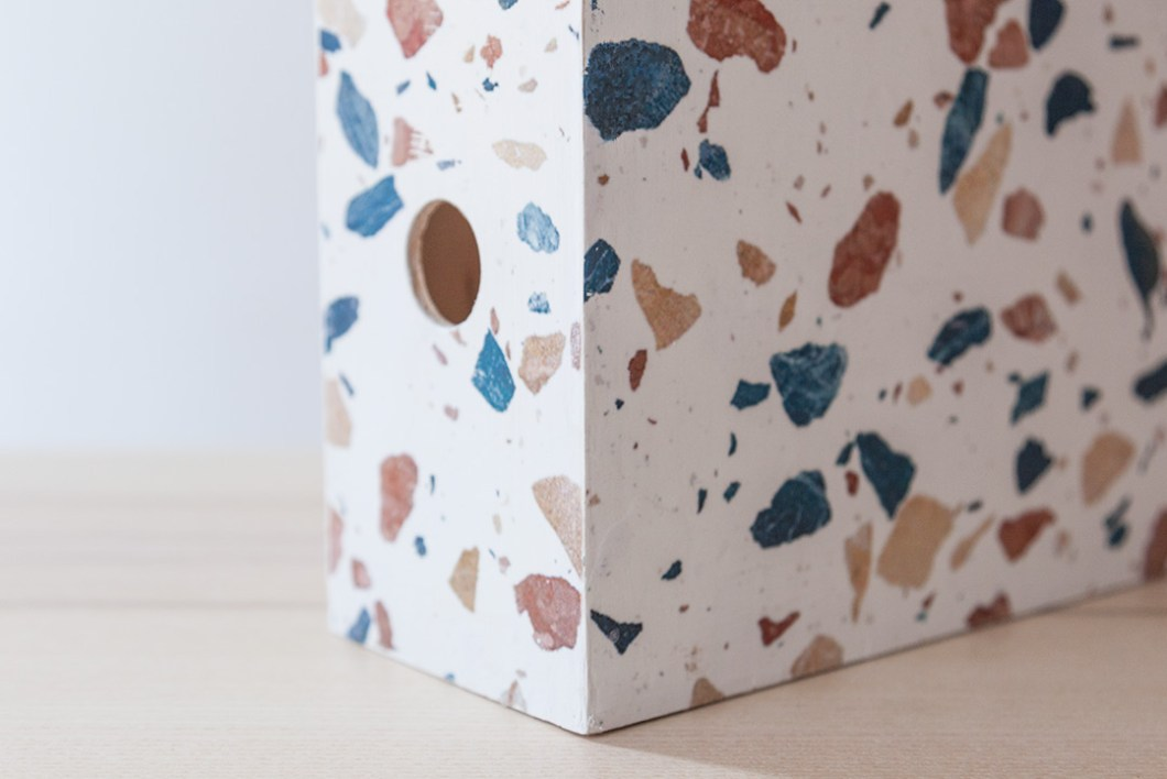 DIY Archivador de terrazzo · DIY Terrazzo Magazine Files · Fábrica de Imaginación · Tutorial in Spanish