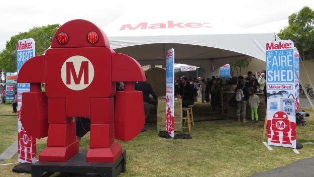 "Maker Faire 2015 gathered many hobbyists, artists and innovators from the growing ""maker movement""."