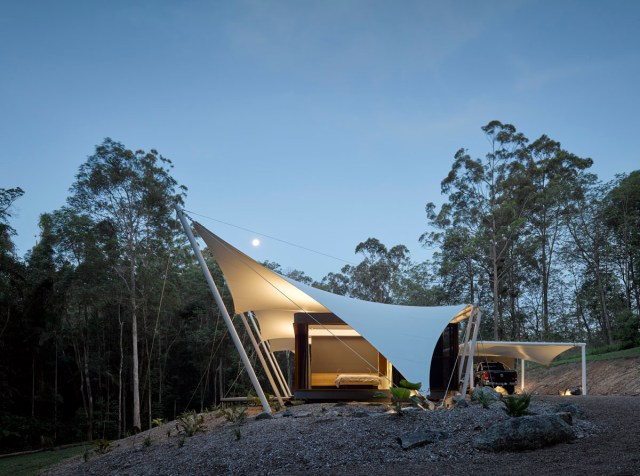 Verrierdale Tent House, Special Project, Fabric House