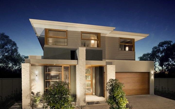 9 hermosas fachadas de casas modernas con piedra - Fachadas de casas con piedra ...