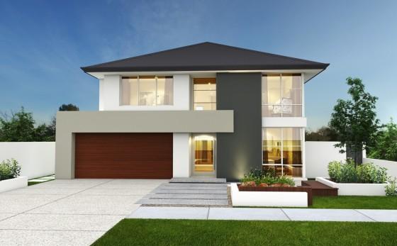 10 fachadas de casas modernas con jardineras fachadas de - Jardineras modernas ...