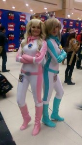 Princess Peach and Rosalina