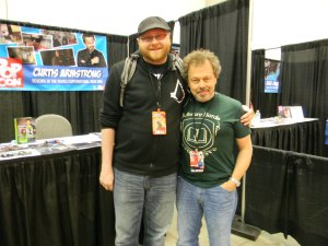 Andrew Buckles and Curtis Armstrong