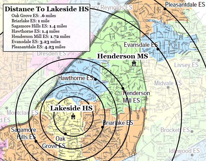 Redistricted Out of Lakeside HS