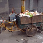 chinese garbage cart