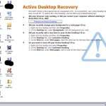 active desktop recovery