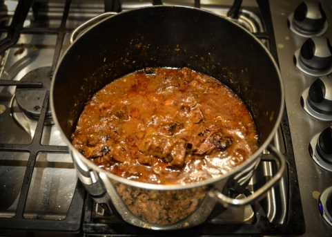 It's kind of hard to make cooking beef rendang look alluring, as I found out.