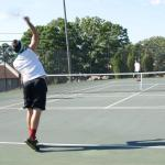 Practice Round Robin Kicks Off  2015 Tennis Season