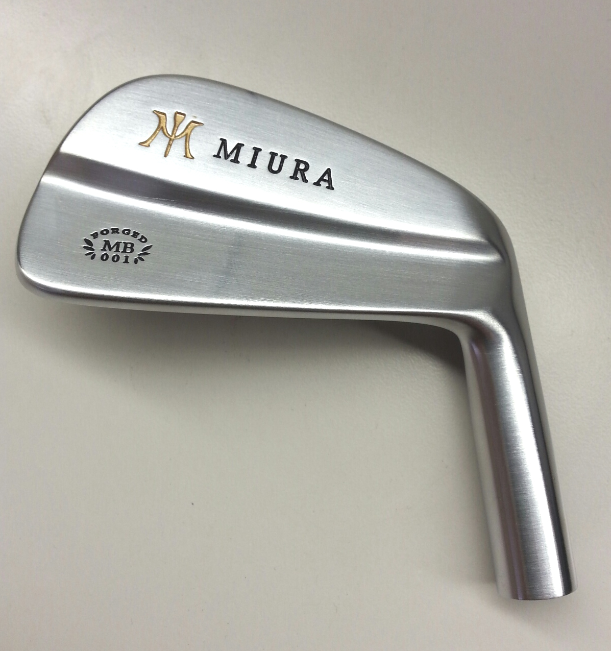 New Miura Mb 001 Blades Available Soon At Fairwaygolfusa Com