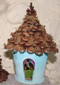 Small Of Fairy Garden Houses Outdoor