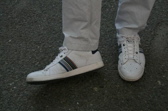 Snygga skor på min kompis