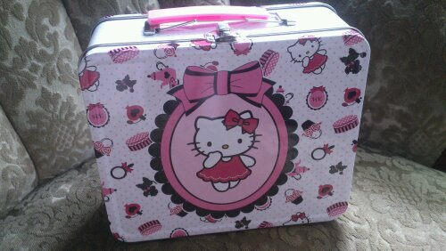 hello kitty söt väska