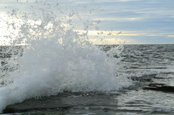 havsvåg vågskum