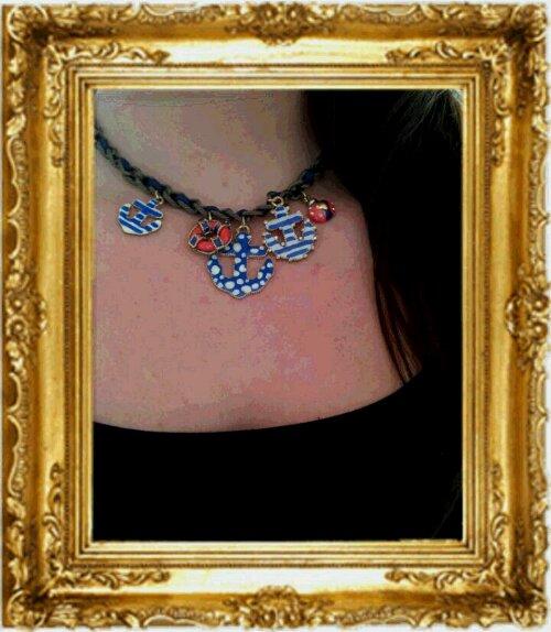 sjömansinspirerat halsband