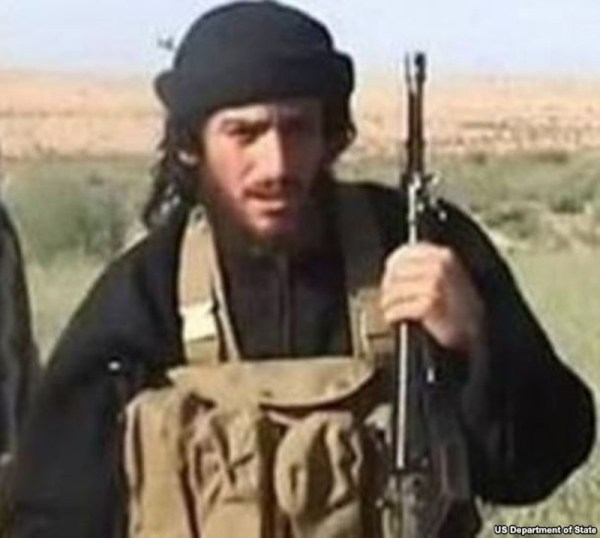 IS spokesman and head of external operations Abu Muhammad al-Adnani is pictured in this undated handout photo, courtesy the U.S. Department of State. The United States carried out an air strike in Syria's town of al-Bab targeting a senior Islamic State official, a U.S. defense official told Reuters on August 30, 2016.  U.S. Department of State/REUTERS
