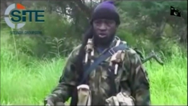 A man purporting to be Boko Haram's leader Abubakar Shekau speaks in this still frame taken from social media video courtesy of SITE Intel Group, released on August 10, 2016, in an unknown location. MANDATORY CREDIT Social Media courtesy of SITE INTEL GROUP/ via REUTERS