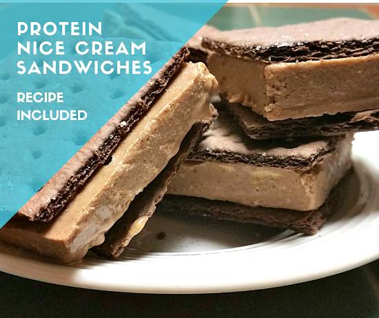 ProteinNice CreamSandwiches