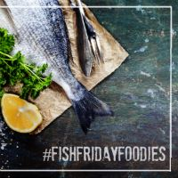 #FishFridayFoodies   Faith, Hope, Love, and Luck Survive Despite a Whiskered Accomplice